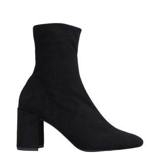 New Jeffrey Campbell Velvet Sock Booties